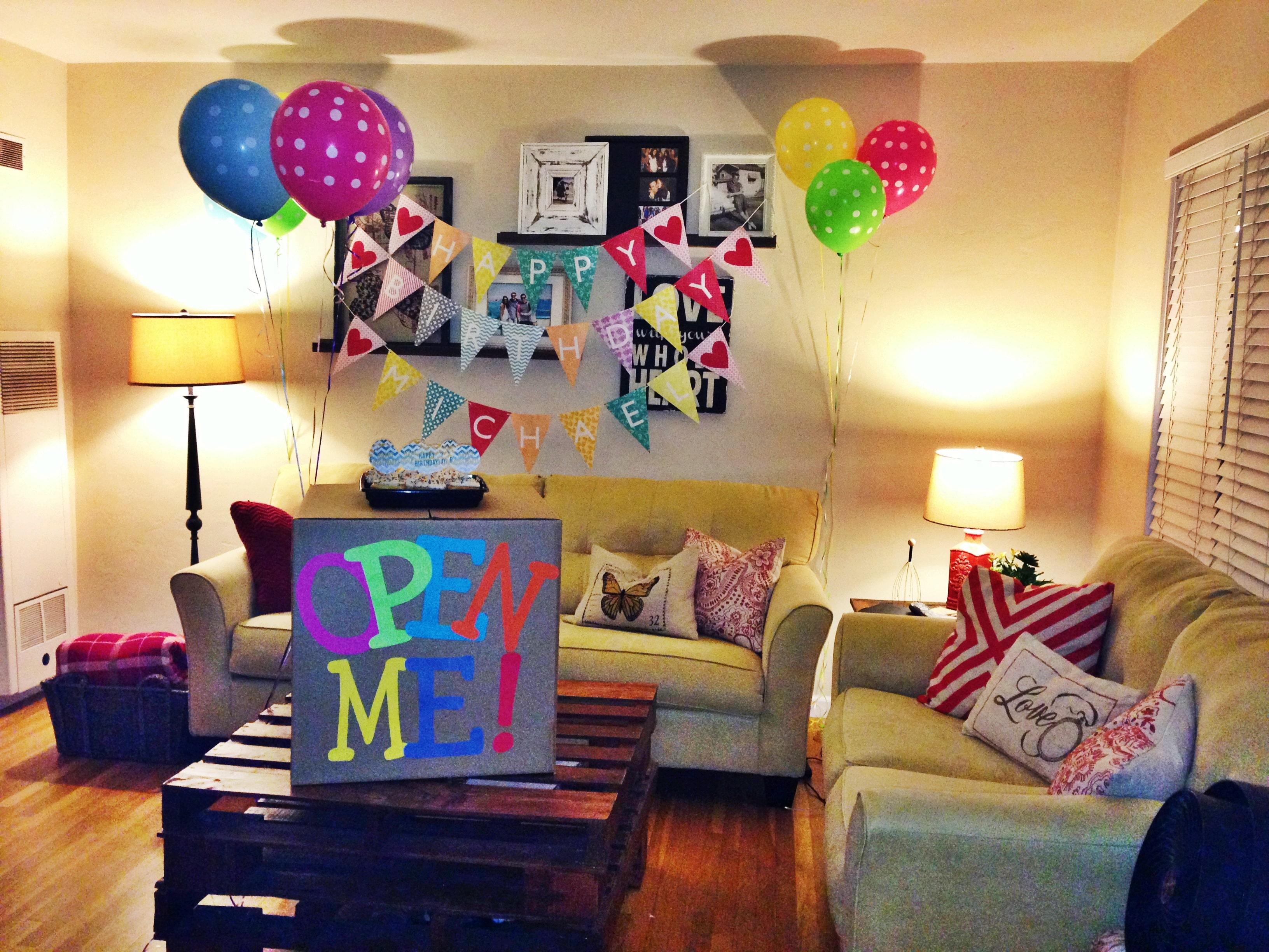 Ideas para el cumplea os de mi novio feliz cumplea os for Cuartos decorados feliz cumpleanos